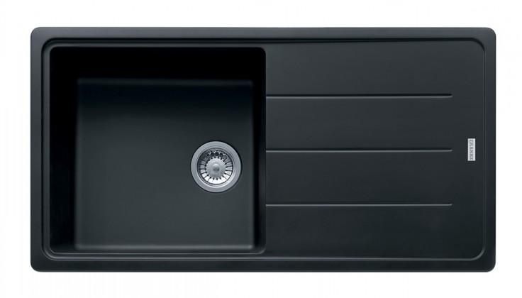 Rovný Franke - drez Fragranit BFG 611, 970x500 (ónyx)