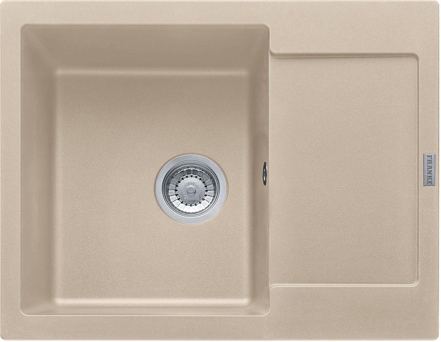 Rovný Franke - drez Fragranit MRG 611-62, 620x500 (pieskový melír)