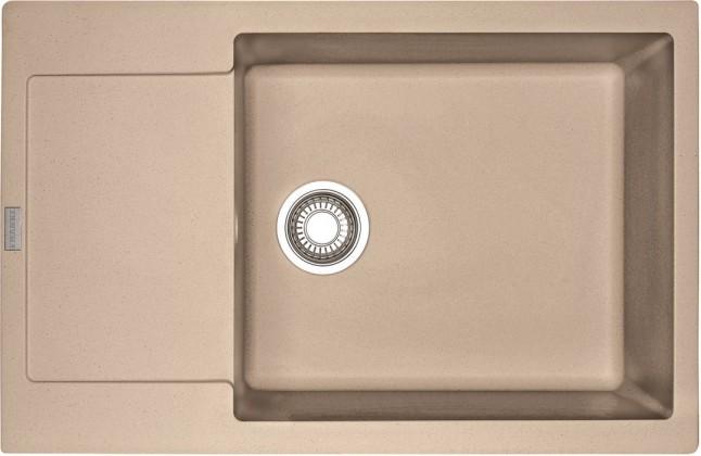 Rovný Franke - drez Fragranit MRG 611-78 BB, 780x500 (pieskový melír)