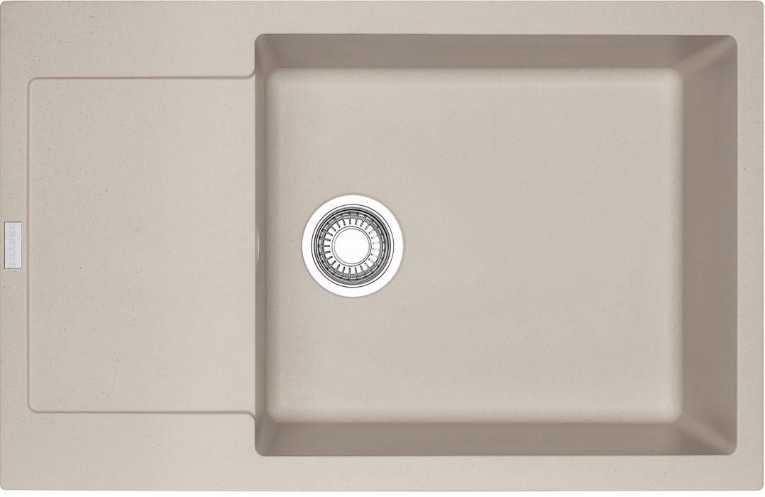 Rovný Franke - drez Fragranit MRG 611-78 BB, 780x500 (sahara)
