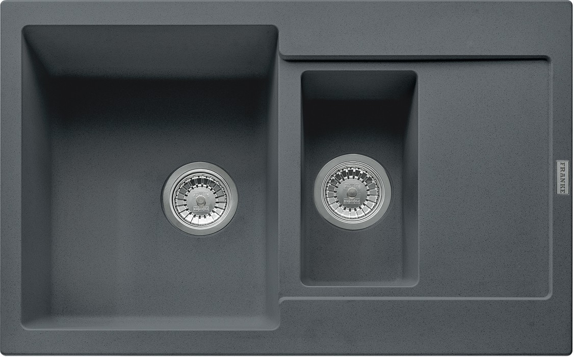 Rovný Franke - drez Fragranit MRG 651-78, 780x500 (grafit)