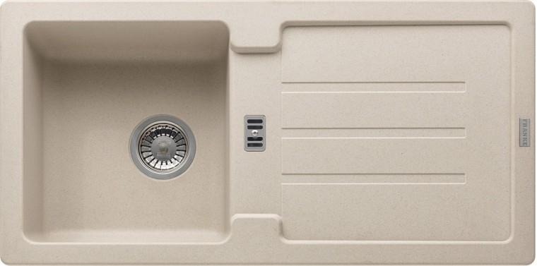 Rovný Franke - drez Fragranit STG 614, 860x435mm (sahara)