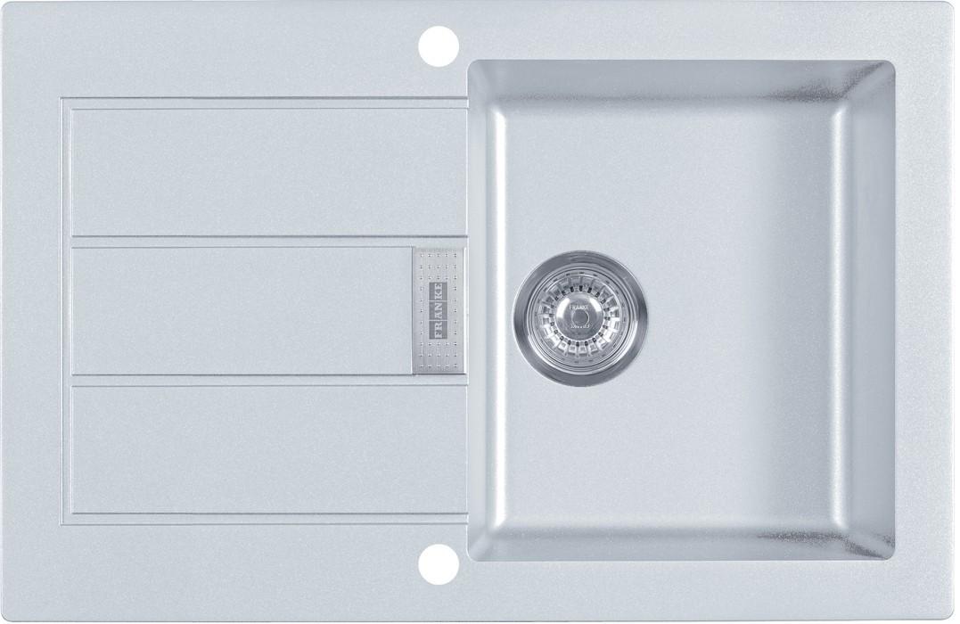 Rovný Franke - drez Tectonite SID 611-78, 780x500 mm (biela)