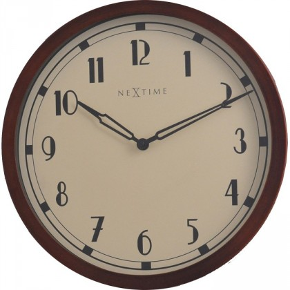 Royal - hodiny, nástenné, guľaté (kov, sklo, čierne)