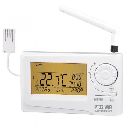 Rozširujúce moduly Termostat Elektrobock PT32 WiFi
