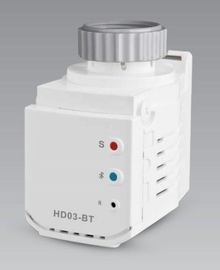 Rozširujúce moduly Termostatická hlavica s Bluetooth Elektrobock HD03-BT