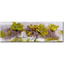 Ručne maľovaný obraz na stenu Experimental (50x150 cm)