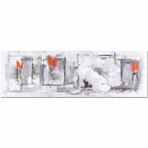 Ručne maľovaný obraz na stenu Life (50x150 cm)