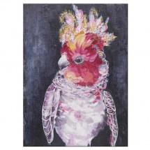 Ručne maľovaný obraz na stenu Parrot 2 (90x120 cm)