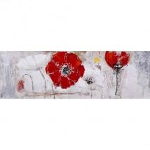 Ručne maľovaný obraz na stenu Redland (50x150 cm)