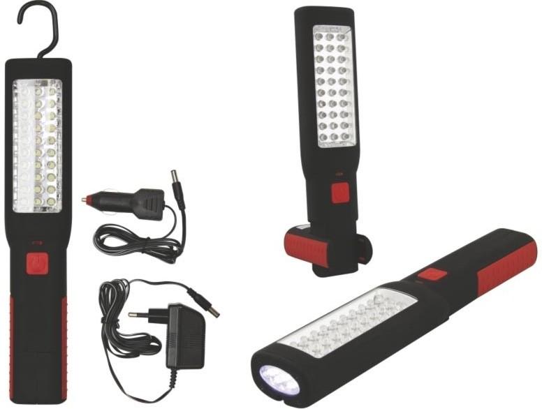 Ručné svietidlá  Emos svítilna nabíjecí 30+7 LED P4508