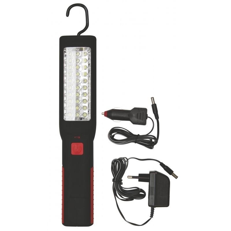 Ručné svietidlá Nabíjacie svietidlo LED ZZ-836, 30 + 7 LED