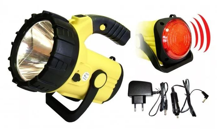 Ručné svietidlá Refelktor Peacock S2111A, 3W, LED, CREE + COB, 220L