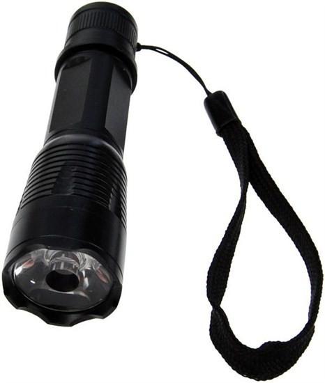 Ručné svietidlá Solight pogumované svietidlo 1 W LED šedé fokus 3 x AAA