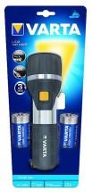 Ručné svietidlo Varta, LED, čierna / strieborná