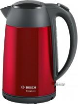 Rýchlovarná kanvica Bosch TWK3P424, červená, 1,7l