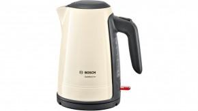Rýchlovarná kanvica Bosch TWK6A017, krémová, 1,7l