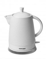 Rýchlovarná kanvica Concept RK0040, keramika, 1,5l