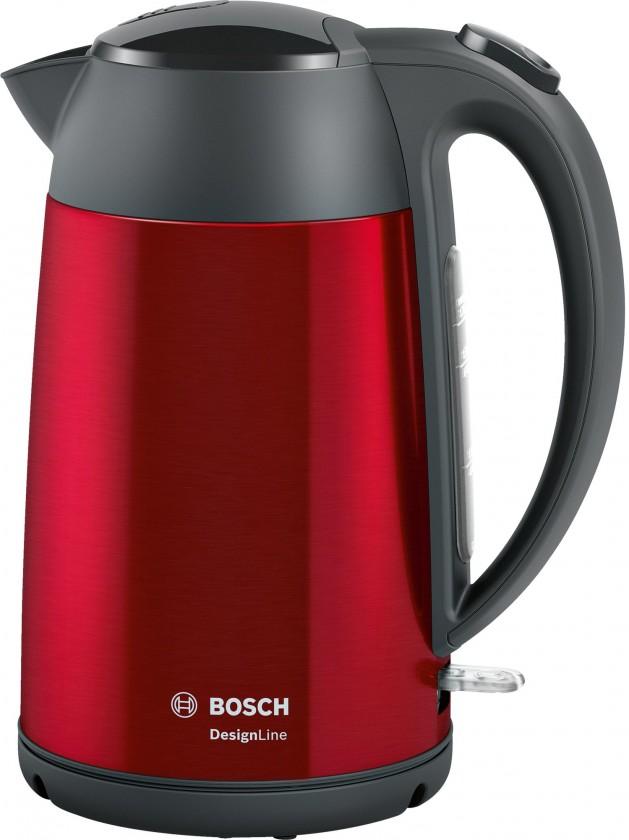Rýchlovarná kanvica Rýchlovarná kanvica Bosch TWK3P424, červená, 1,7l