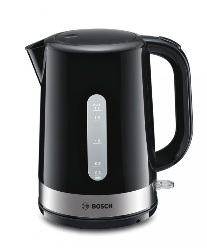 Rýchlovarná kanvica Rýchlovarná kanvica Bosch TWK7403, nerez, 1,7l