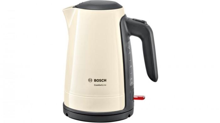 Rychlovarná konvice Bosch TWK6A017, krémová, 1,7l