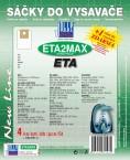 Sáčky do vysávača ETA2 MAX 8ks