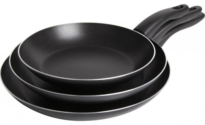 Sada panvic kh-1527 (hliník,neprilnavý povrch,čierna)