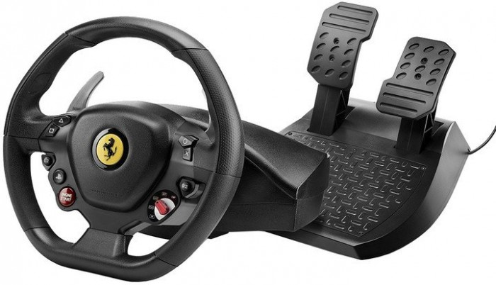Sada volantu a pedálov Thrustmaster T80 Ferrari 488 GTB Edition