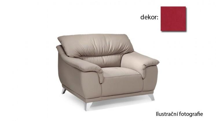 Samostatné kreslo Dunja - kreslo (new lucca - berry P703, sk. E1)