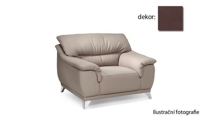 Samostatné kreslo Dunja - kreslo (new lucca - espresso P711, sk. E1)