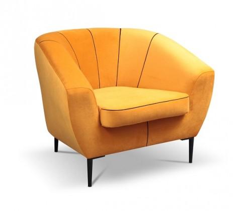 Samostatné kreslo Kreslo Ladon oranžová