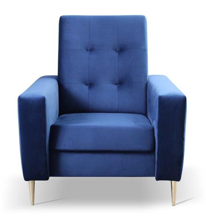 Samostatné kreslo Kreslo Zara modrá