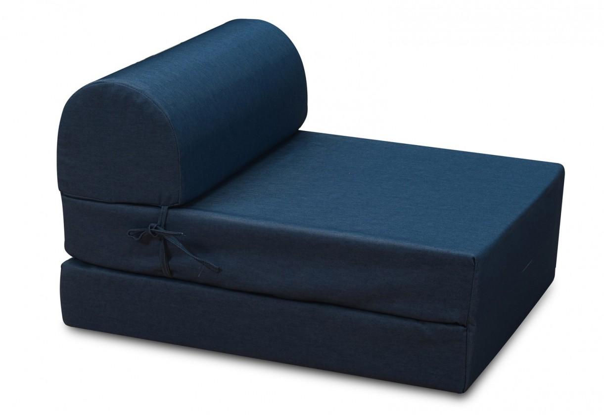 Samostatné kreslo Marino-kreslo,rozkladacie (jeans blue ,sk. MR-1)