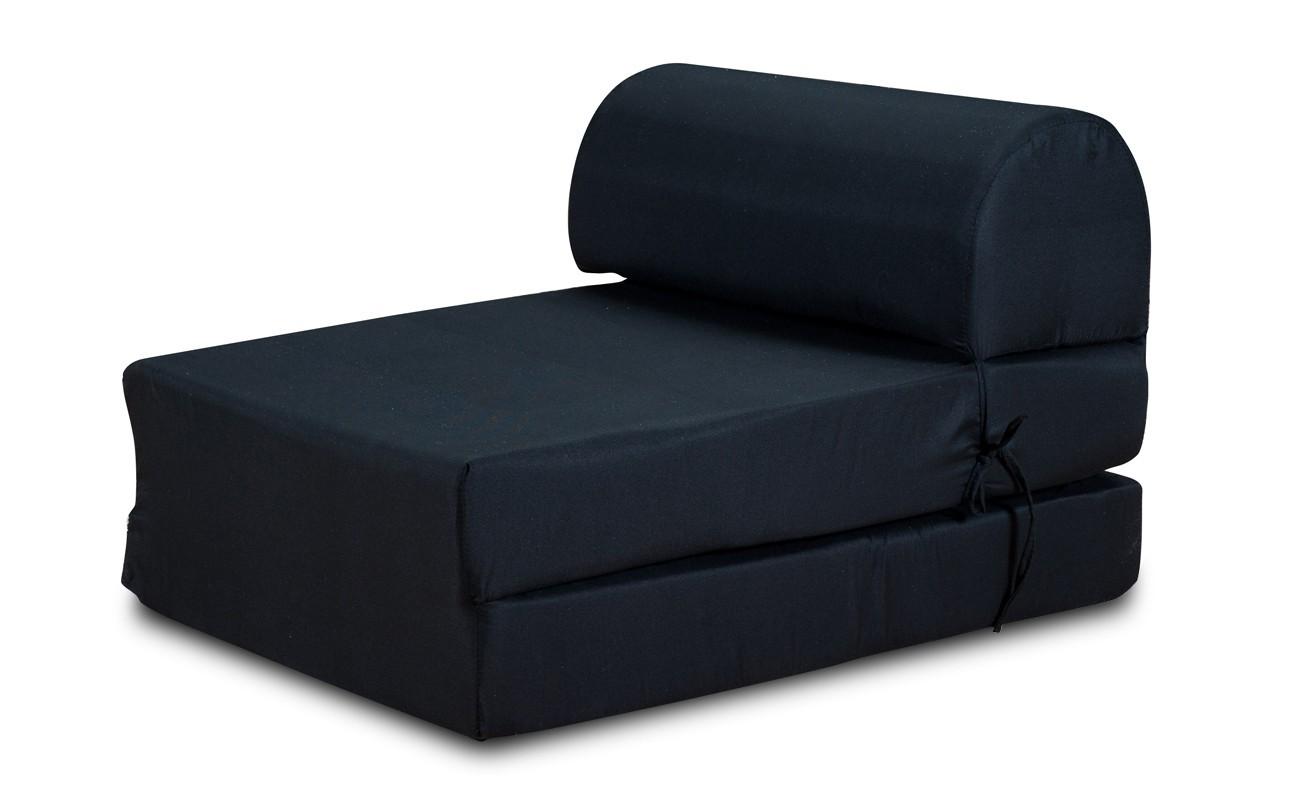 Samostatné kreslo Moderné kreslo Marino rozkladacie čierna