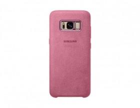 Samsung Alcantara Cover pro S8 (G950) Pink