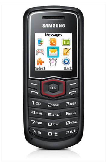 Samsung E1081, čierny
