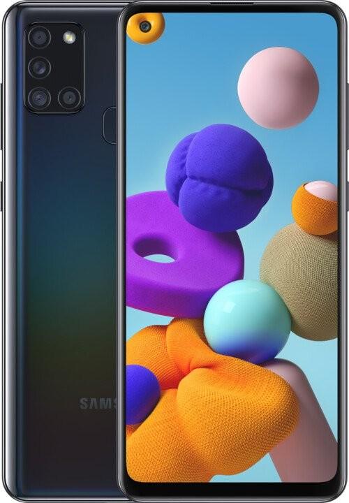 Samsung Galaxy A Mobilný telefón Samsung Galaxy A21s 3GB/32GB, čierna