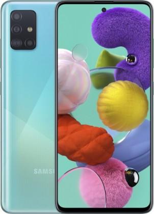 Samsung Galaxy A Mobilný telefón Samsung Galaxy A51 4GB/128GB, modrá