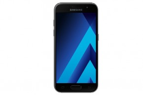 Samsung Galaxy A3 2017, čierna + kryt jako darček