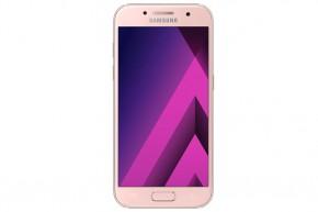 Samsung Galaxy A3 2017, ružová POUŽITÝ, NEOPOTREBOVANÝ TOVAR