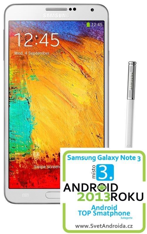Samsung Galaxy Note III (N9005), biely