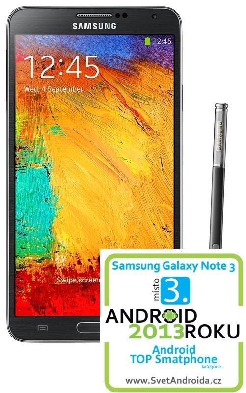 Samsung Galaxy Note III (N9005), čierny