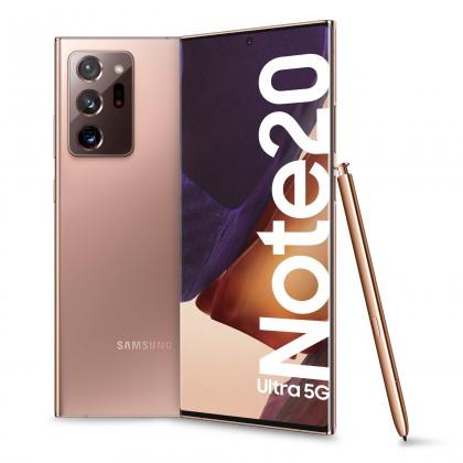 Samsung Galaxy Note Mobilný telefón Samsung Galaxy Note 20 Ultra 12GB/256GB,bronzová