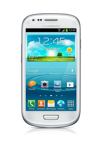 Samsung Galaxy S III mini (i8190), biely