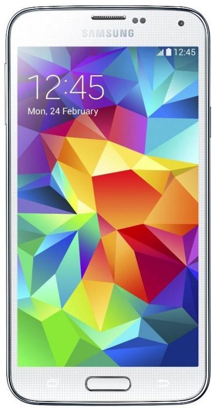 Samsung Galaxy S5 (SM-G900), biely