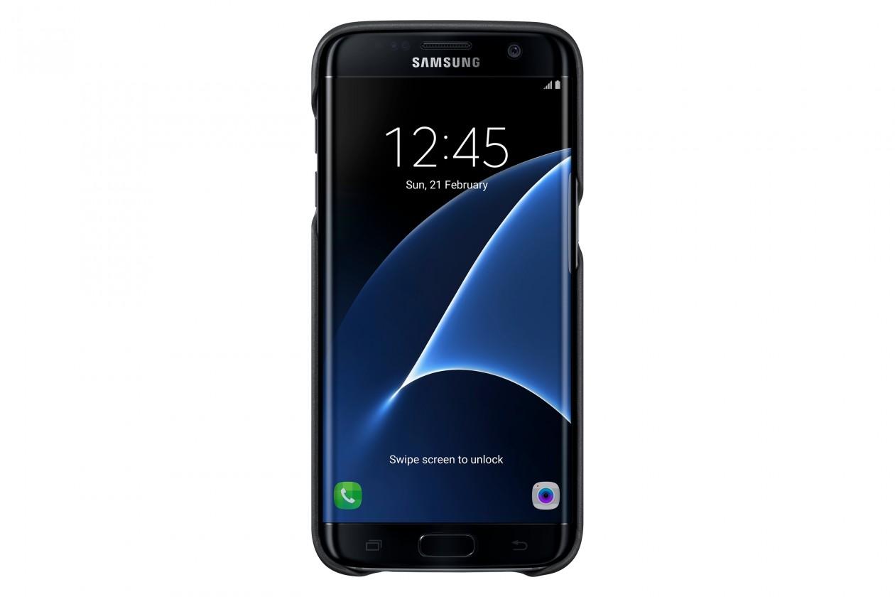 Samsung gelskin pre Galaxy S7 Edge, čierna