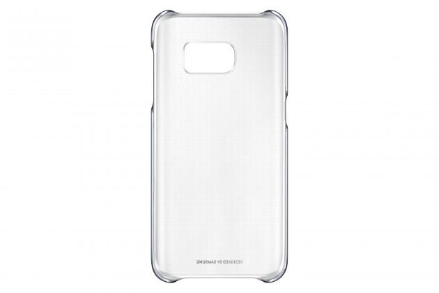 Samsung gelskin pre Galaxy S7, transparentné + čierna