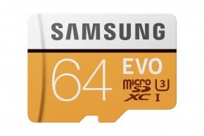 Samsung microSDXC 64GB UHS-I U3 MB-MP64GA/EU