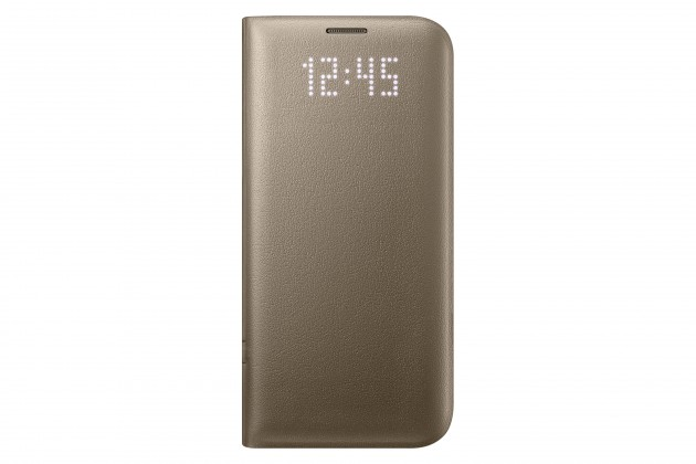 Samsung púzdro pre Galaxy S7 Edge EF-NG9305PF, zlatá