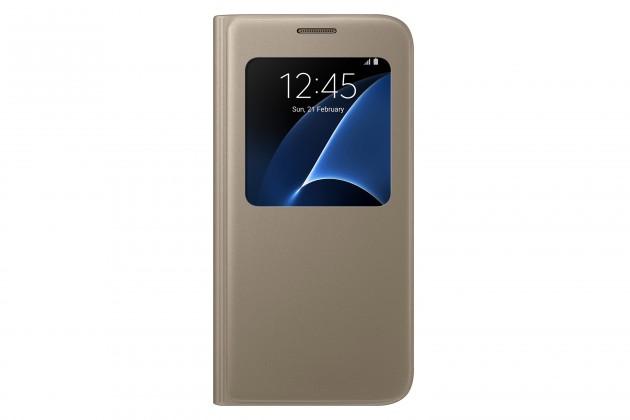 Samsung púzdro pre Galaxy S7 EF-CG930PF, zlatá